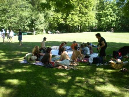 englischer garten picknick